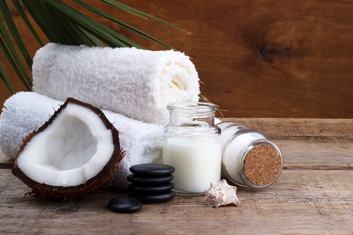 Coconut oil as a skincare product
