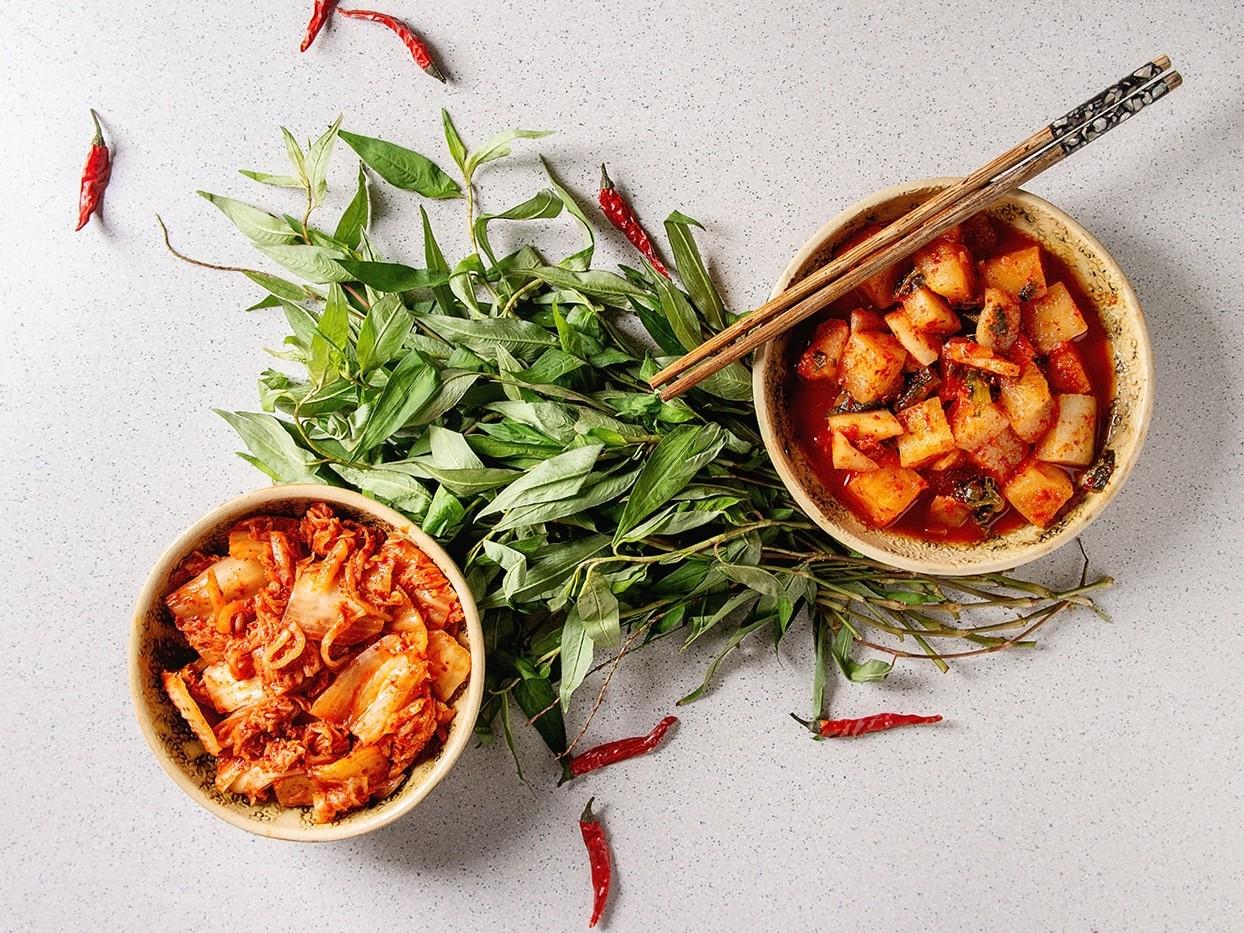 Kimchi, a fermented food