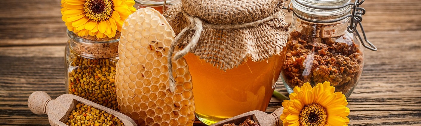 Manuka honey and other honey related products