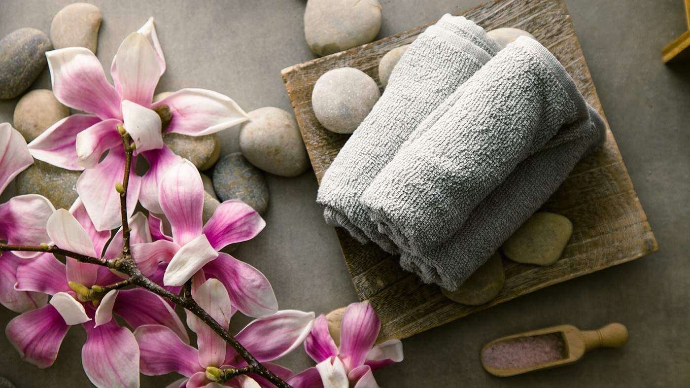 A Spa Setting, perfect for self-care