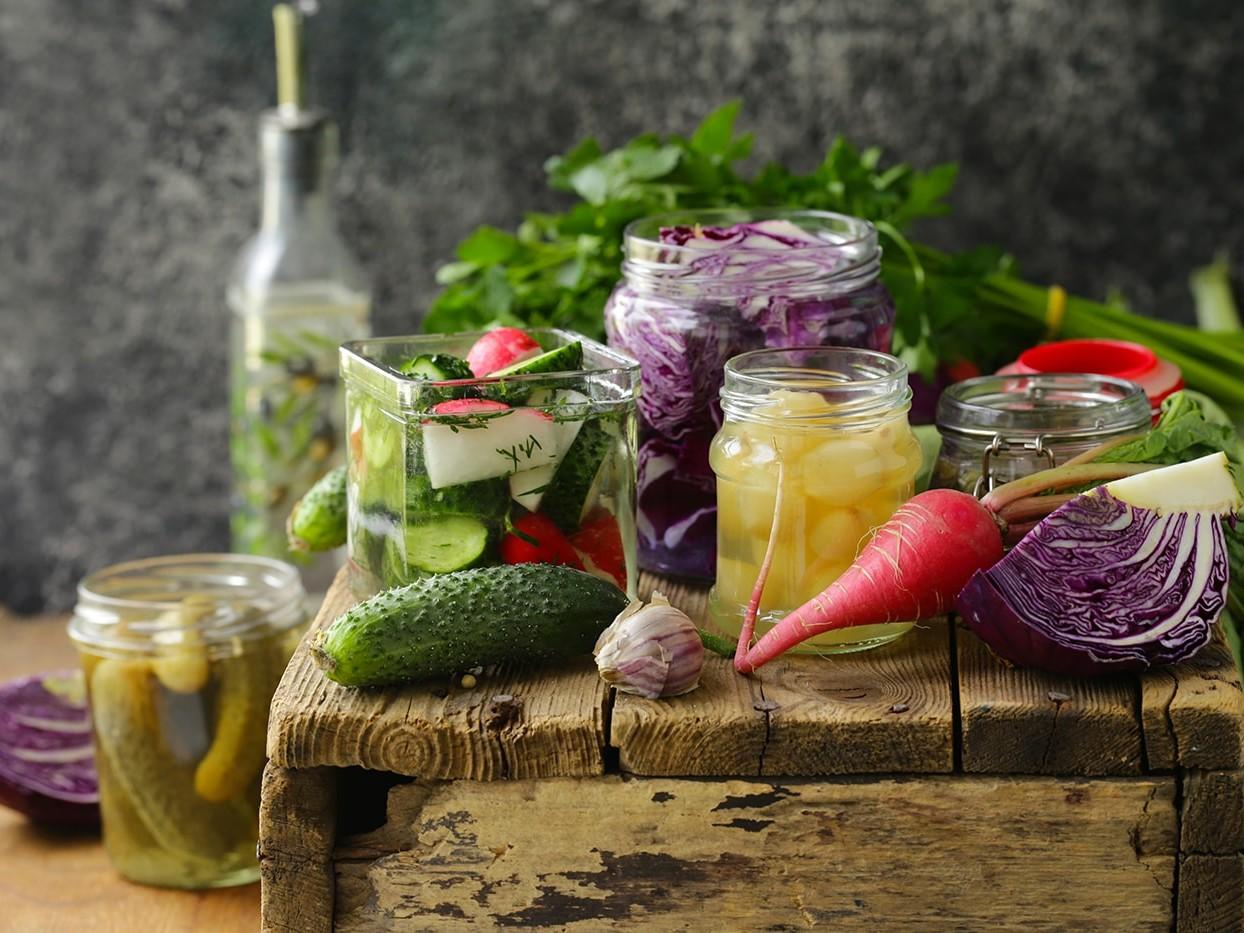 Pickled Vegetables, a Good Source of Probiotics