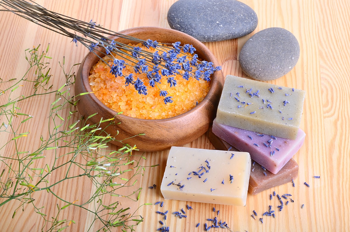 Natural soap and skincare