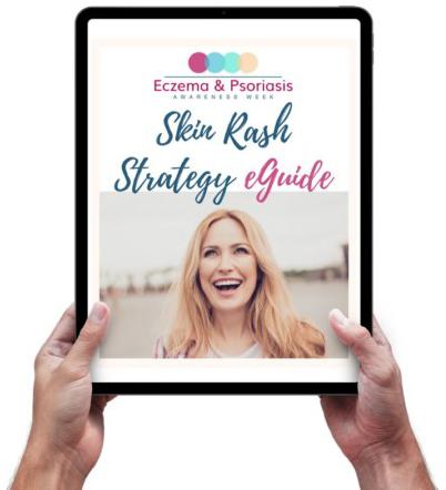 Skin Rash Strategy Guide on an iPad