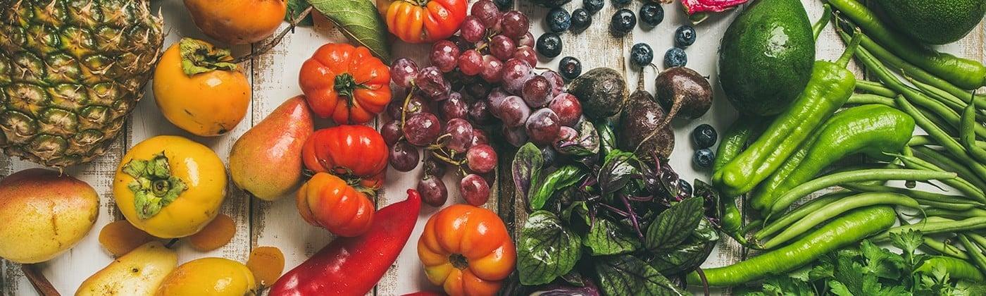 Healthy Vegetables full of Nutrients