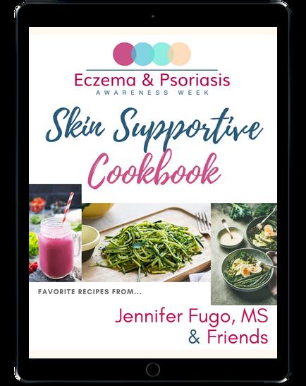 Skin Supportive Cookbook on iPad