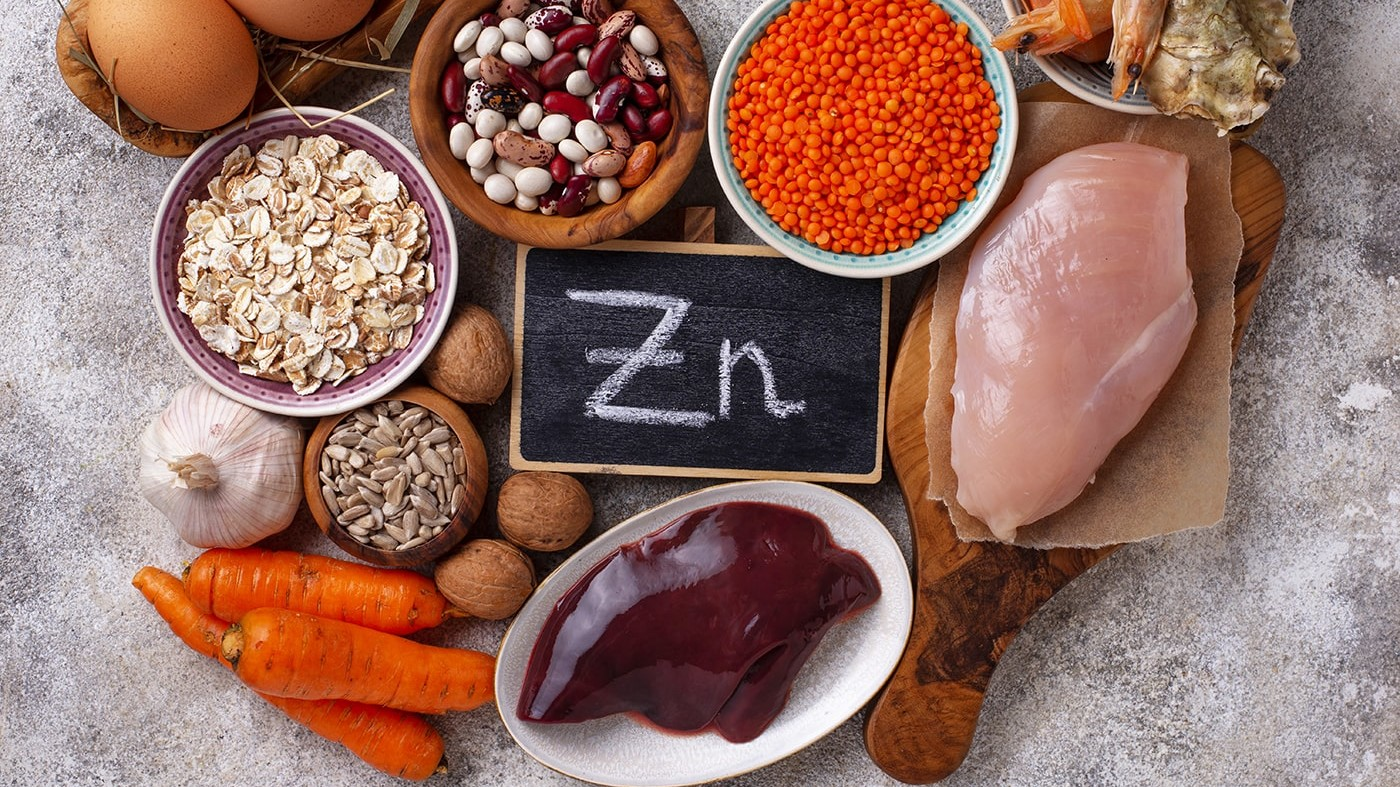 Healthy food sources of zinc