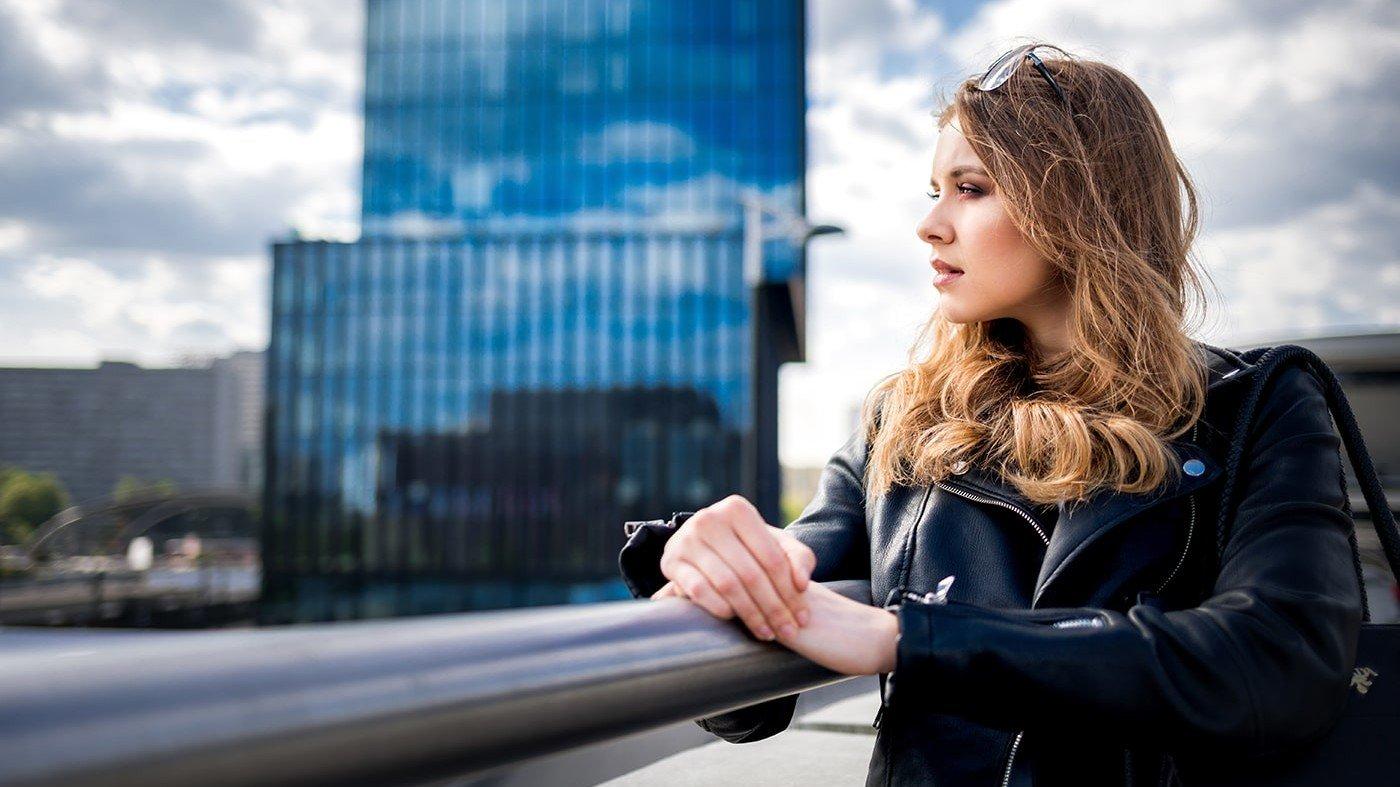 Woman thinking about Malassezia