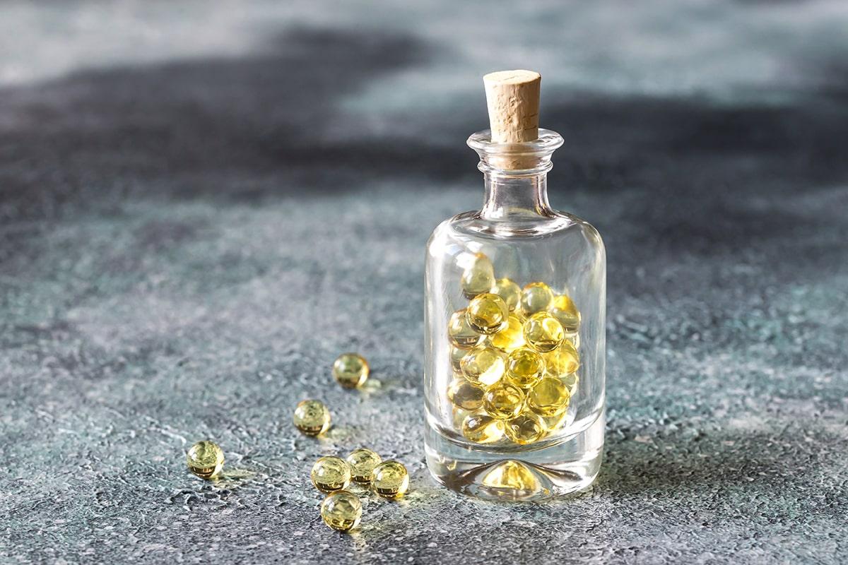 Castor oil capsules